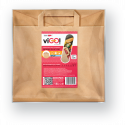 Paper bag with handle size M-5 pieces