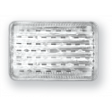 Aluminum tray to grill size S-3 x